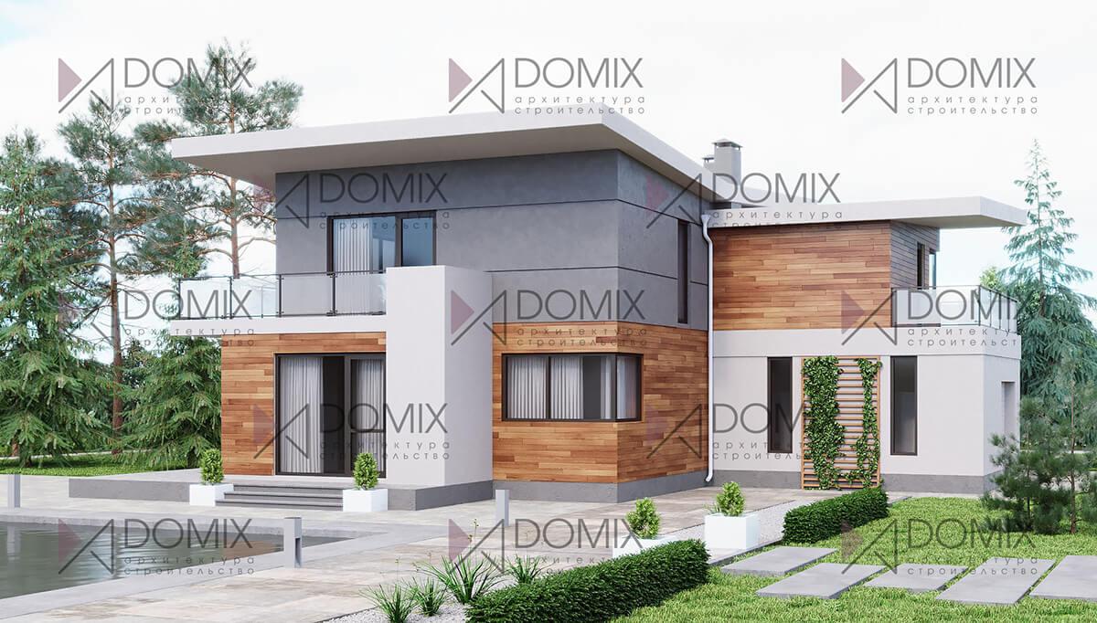 Проект дома в современном стиле XT-226, 226 метров, 9.9 млн.