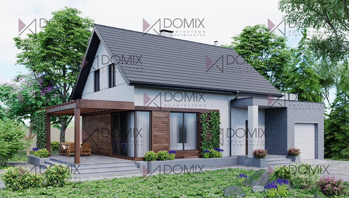 Проект двухэтажного дома Formix-3, 147 метров, 5.8 млн.